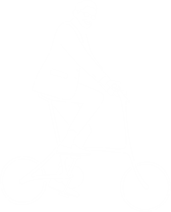Logo Dénis sur son Vélo